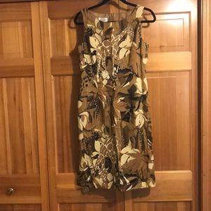 Unique giraffe print dress